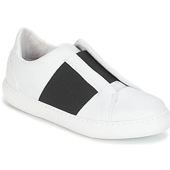 Chaussures Femme Baskets basses André AEROBIE Blanc