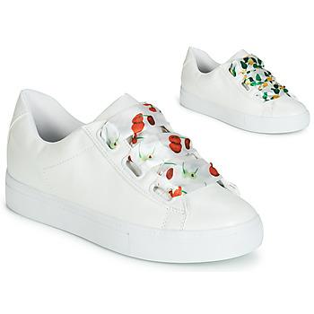 Chaussures Femme Baskets basses André SOLANGE Blanc