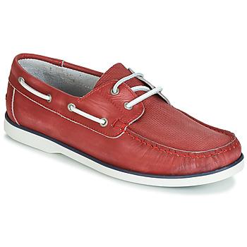 Chaussures Homme Chaussures bateau André PORT CROS Rouge