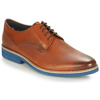 Chaussures Homme Derbies André CANOE Cognac / Bleu