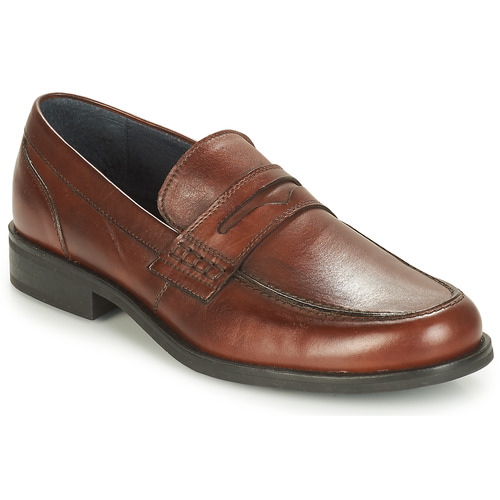 Chaussures Homme Mocassins André KOLL Marron
