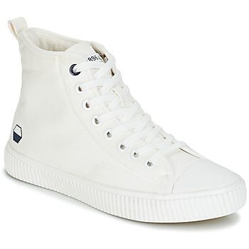 Chaussures Homme Baskets montantes André SUBWAY Blanc