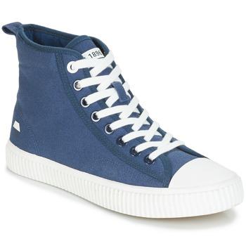Chaussures Homme Baskets montantes André SUBWAY Bleu