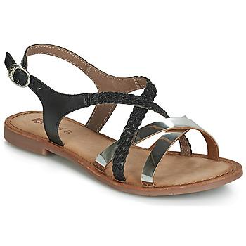 Chaussures Femme Sandales et Nu-pieds Kickers ETHY Noir