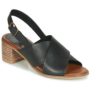 Chaussures Femme Sandales et Nu-pieds Kickers VICTORIANE Noir