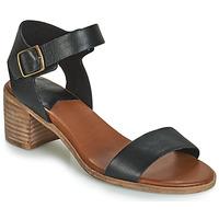 Chaussures Femme Sandales et Nu-pieds Kickers VOLOU Noir