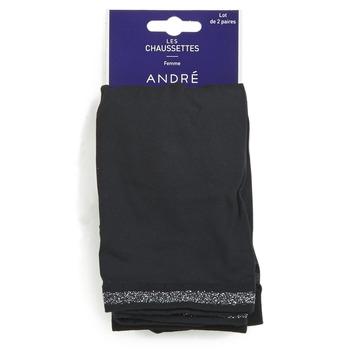 Accessoires textile Femme Chaussettes André MARGUERITE Noir