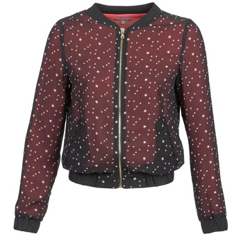 Vêtements Femme Vestes / Blazers Moony Mood CAT Noir / Rouge