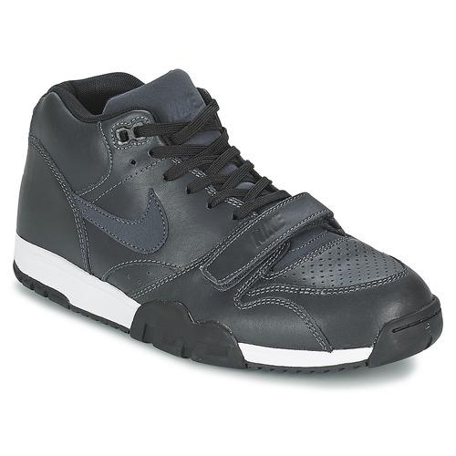 Mid Cher Chaussure Nike 1 Avec Trainer Pas Air Noir fxqRRoAwFt