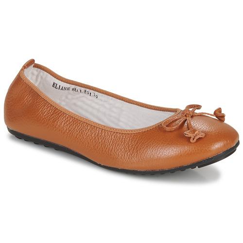Chaussures Femme Ballerines / babies Mac Douglas ELIANE Chataigne