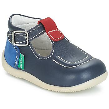Chaussures Enfant Ballerines / babies Kickers BONBEK Marine