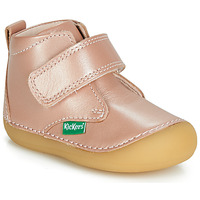 Chaussures Fille Boots Kickers SABIO Rose