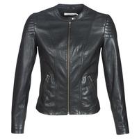 Vêtements Femme Vestes en cuir / synthétiques Naf Naf CLIM Noir