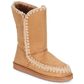 Chaussures Femme Bottes ville LPB Shoes NATHALIE Camel