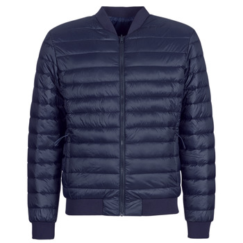 Vêtements Homme Doudounes Selected SLHPADDED BOMBER Marine