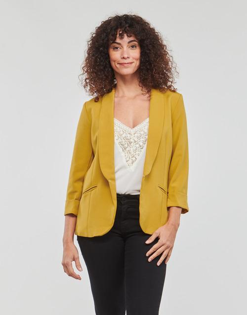 Vêtements Femme Vestes / Blazers Betty London IOUPA Jaune