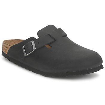 Chaussures Sabots Birkenstock BOSTON PREMIUM Noir