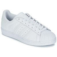 Chaussures Baskets basses adidas Originals SUPERSTAR FOUNDATIO Blanc