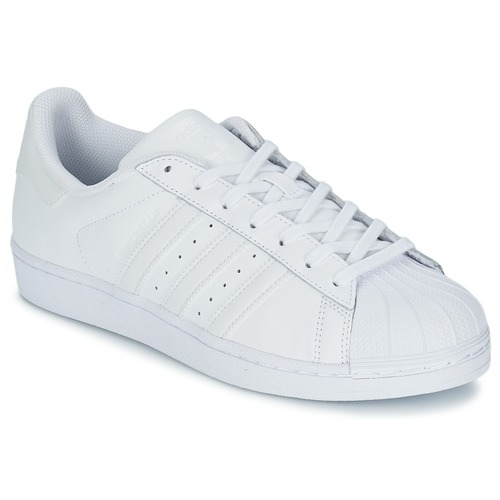 Chaussures Baskets basses adidas Originals SUPERSTAR FOUNDATIO Blanc