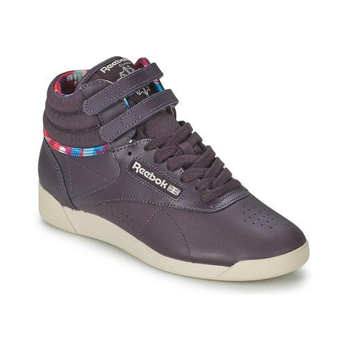 Chaussures Femme Baskets montantes Reebok Classic F/S HI GEO GRAPHICS Violet