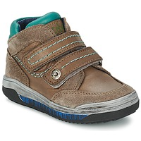 Chaussures Air max tnFille Baskets montantes Acebo's ACERA Taupe