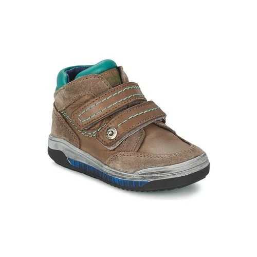 Chaussures Fille Baskets montantes Acebo's ACERA Taupe