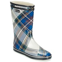 Chaussures Femme Bottes de pluie Aigle MALOUINE PRINT Marine