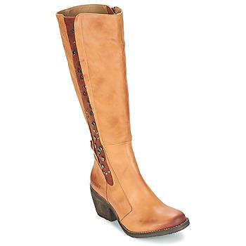 Chaussures Femme Bottes ville Dkode LEANNE Cognac