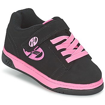 Chaussures Fille Chaussures à roulettes Heelys DUAL UP Noir / Rose