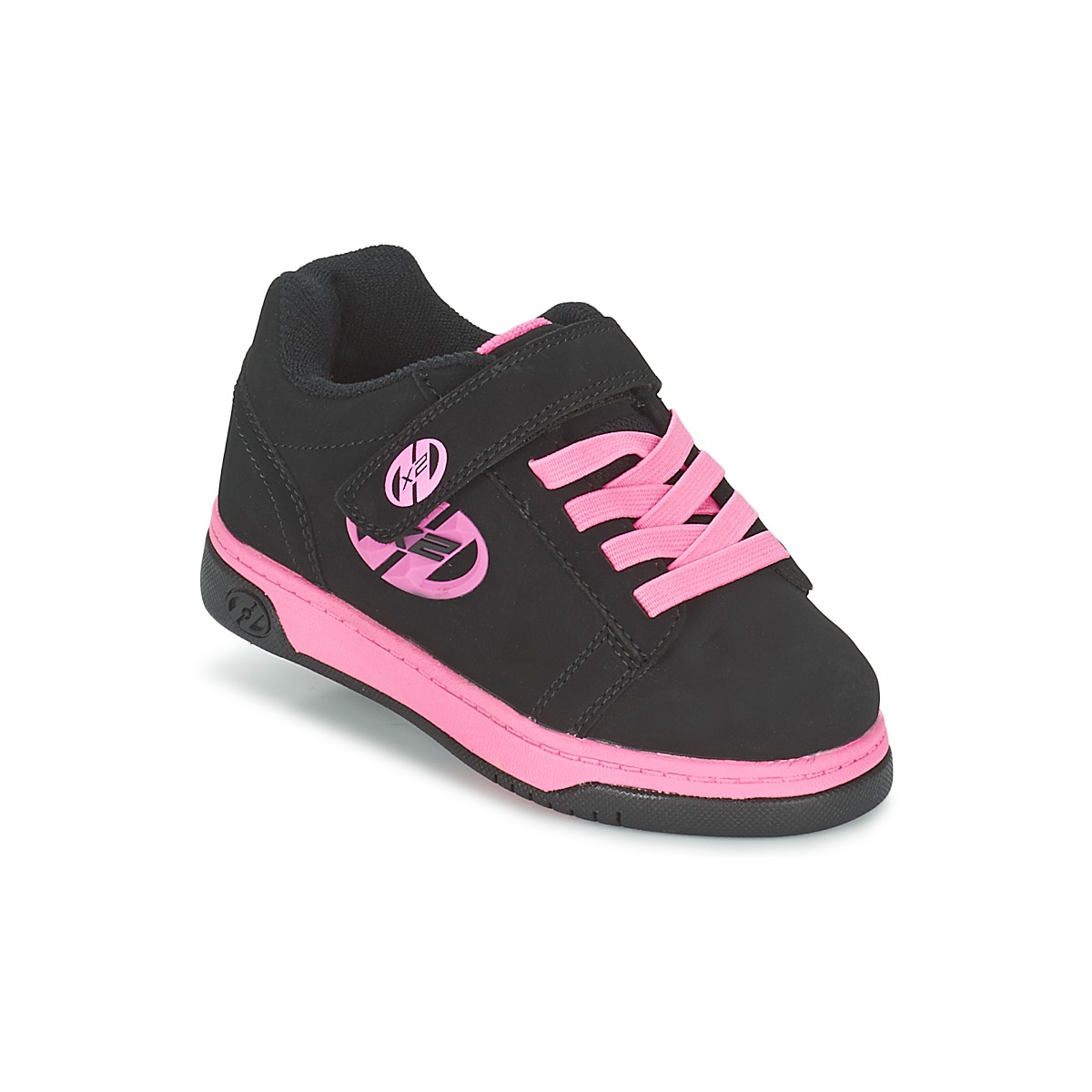 heelys dual up noir rose chaussure pas cher avec shoes. Black Bedroom Furniture Sets. Home Design Ideas