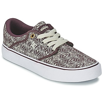 Chaussures Femme Baskets basses DC Shoes MIKEY TAYLOR VU Syrah