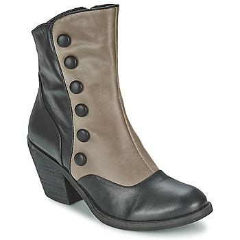 Chaussures Femme Bottines Lola Ramona GRINGO Gris