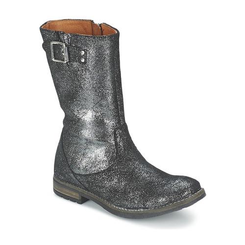 Chaussures Fille Bottes ville Shwik WACO BOTTE Noir