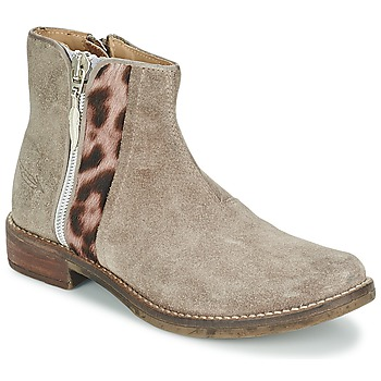 Chaussures Fille Boots Shwik TIJUANA WILD Taupe