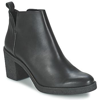 Chaussures Femme Bottines Miista KENDALL Noir