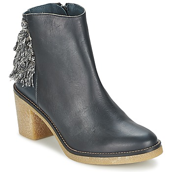 Chaussures Femme Bottines Miista BRIANNA Bleu marine