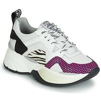 Chaussures Femme Baskets basses Meline ARGAGALI Blanc / Noir