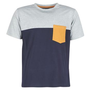 Vêtements Homme T-shirts manches courtes Casual Attitude JERMENE Gris / Marine