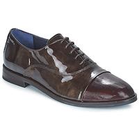Chaussures Femme Derbies Dorking RAQUEL MARRON