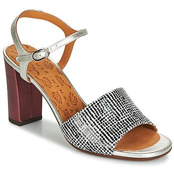 Chaussures Femme Sandales et Nu-pieds Chie Mihara PARIGI Argenté / Noir