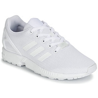 Chaussures Enfant Baskets basses adidas Originals ZX FLUX J Blanc