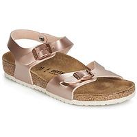 Chaussures Fille Sandales et Nu-pieds Birkenstock RIO Rose