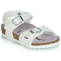 Chaussures Fille Sandales et Nu-pieds Birkenstock RIO Blanc