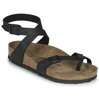 Chaussures Femme Sandales et Nu-pieds Birkenstock YARA Noir