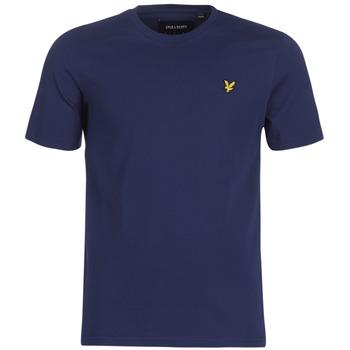 Vêtements Homme T-shirts manches courtes Lyle & Scott FAFARLIBE Marine
