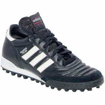 Chaussures Football adidas Performance MUNDIAL TEAM DUR Noir / Blanc