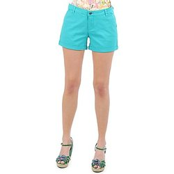 Vêtements Femme Shorts / Bermudas Vero Moda RIDER 634 DENIM SHORTS - MIX Turquoise