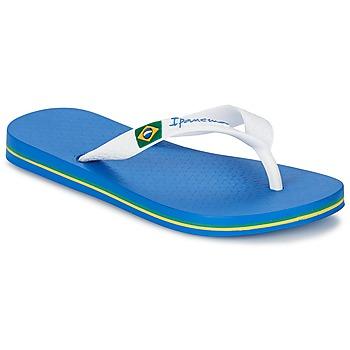 Chaussures Garçon Tongs Ipanema CLASSICA BRASIL II KIDS Bleu / Blanc