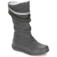 Chaussures Fille Bottes ville Primigi (enfant) CHARLIZE Noir