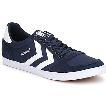Hummel TEN STAR LOW CANVAS Marine